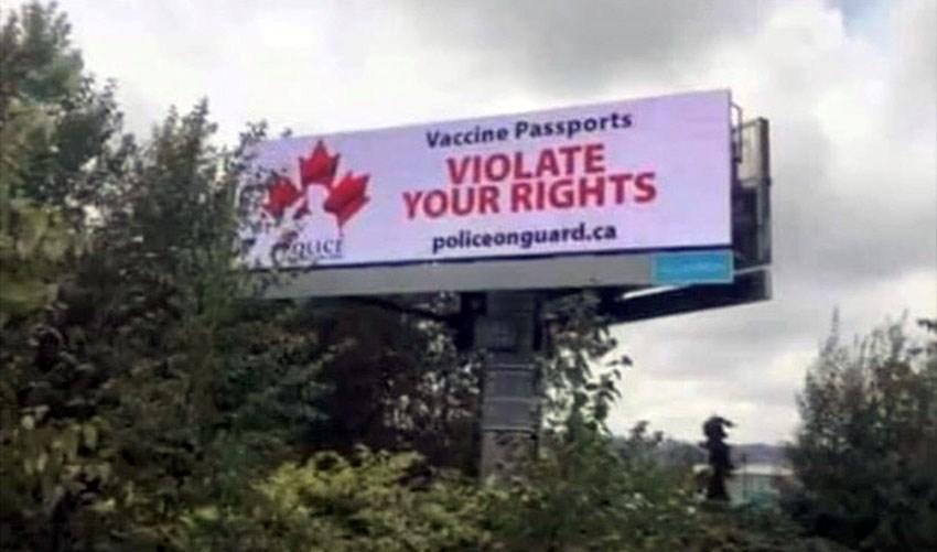 Anti-VaccineSignPortCoquitlam