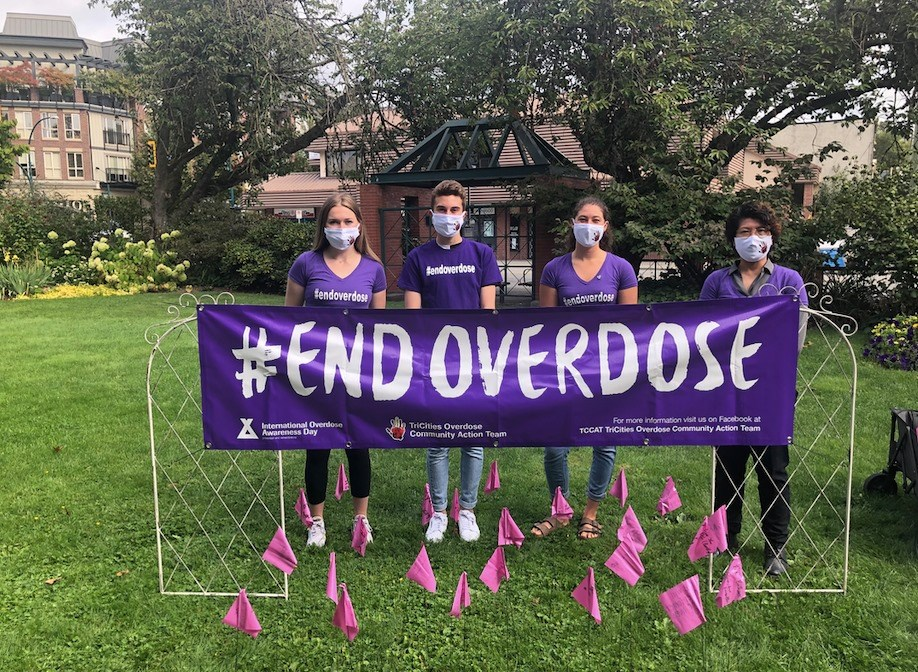 Coquitlam International Overdose Awareness Day 2020