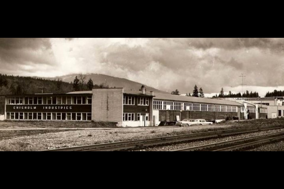 The old Chisholm Industries plant on Murray Street in Port Moody.