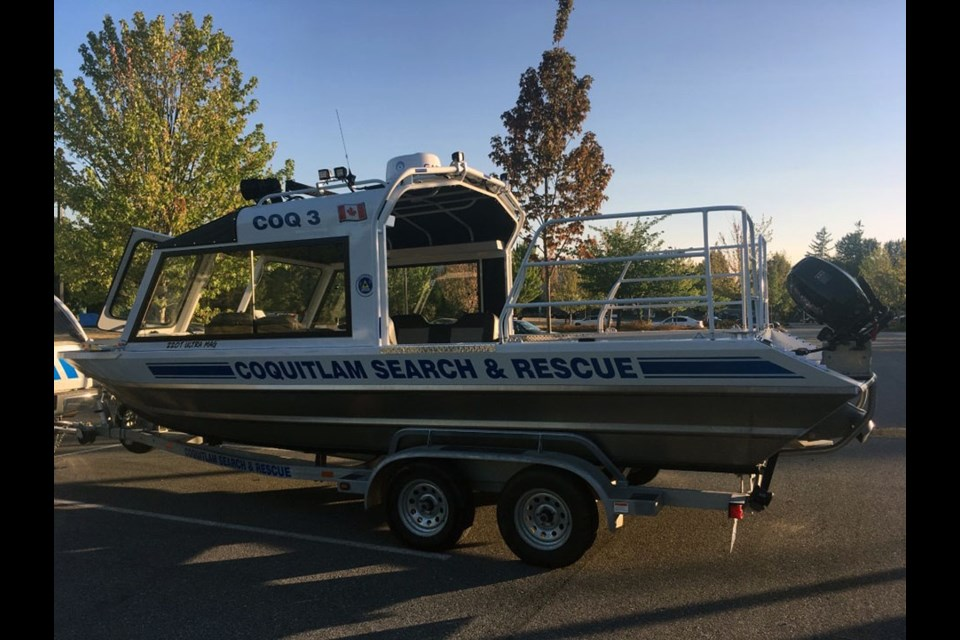 Coquitlam Search and Rescue (CoqSAR) are appealing to the public for a space to store its marine rescue boat after its regular unit became full.