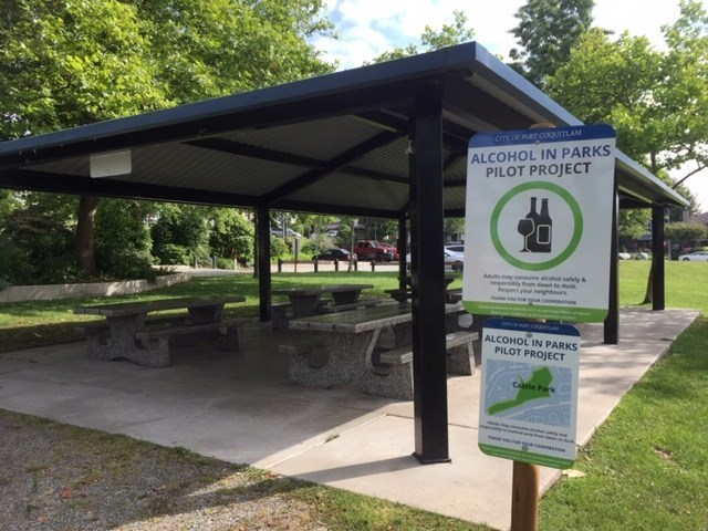 Castle Park Alcohol in Parks Pilot Project