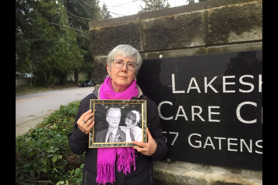Kate Cochlan was the head of the family council at Lakeshore Care Centre. Her husband, Trevor Nash, died of COVID-19 Dec. 29, during an outbreak at the care home.