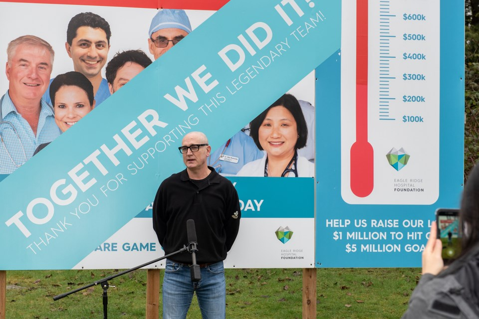 Port Moody hospital campaign reaches goal
