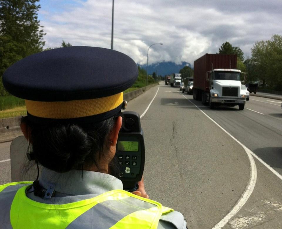 Coquitlam RCMP traffic