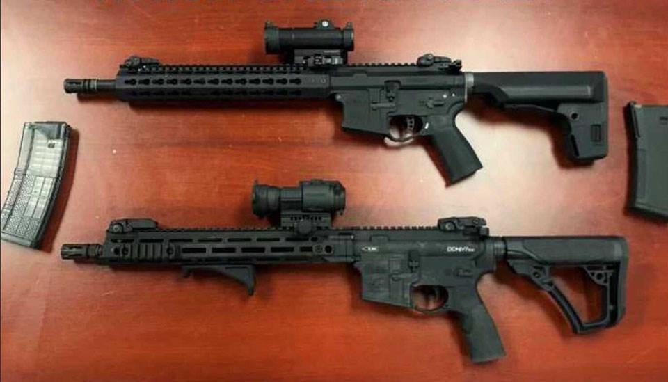 Replica firearms - Port Moody police