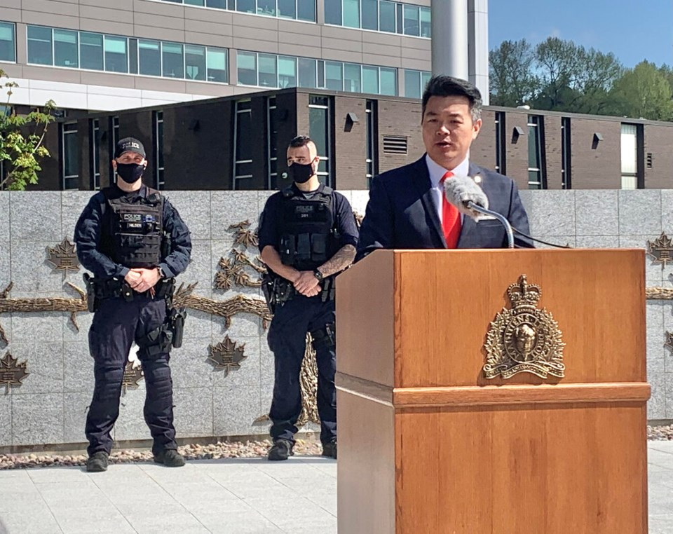 Sgt. Frank Jang at BC RCMP headquarters
