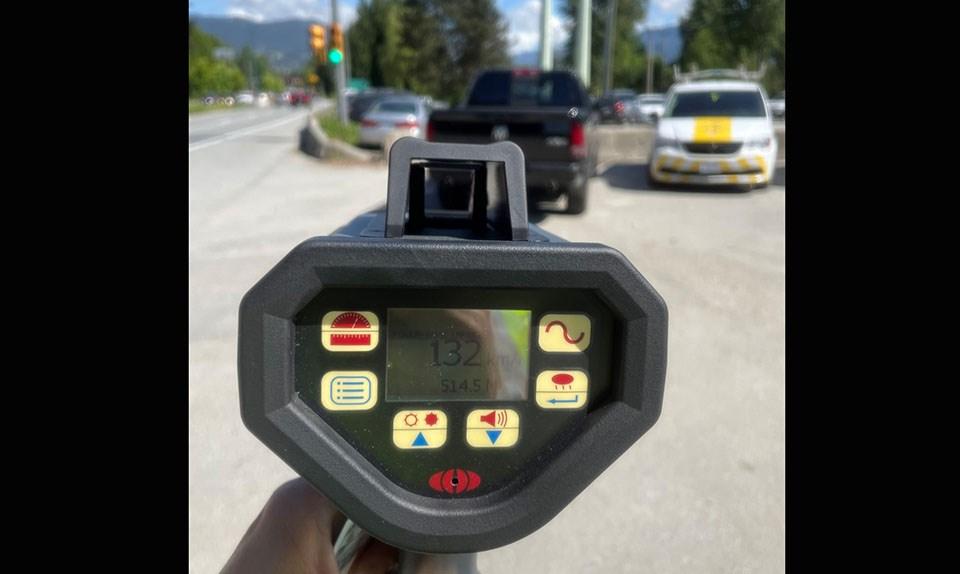 Speeding truck Coquitlam RCMP - June 1, 2021