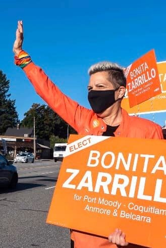 Mail-in ballots seal NDP candidate Bonita Zarrillo's Port Moody-Coquitlam flip