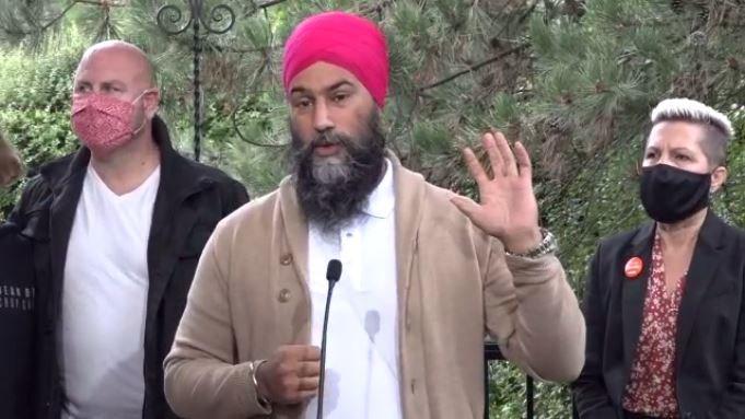 Jagmeet Singh in Coquitlam 3 housing