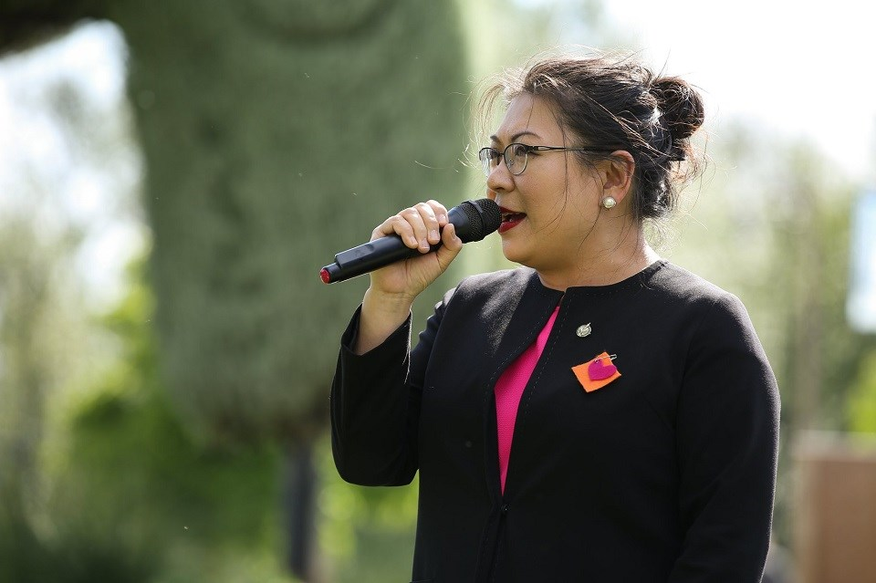 Port Moody-Coquitlam MP Nelly Shin - Stop Asian Hate