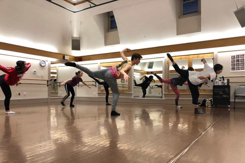 Contemporary Jazz and Lyrical Master Class with Taylor Dolan. Image: Place des Arts