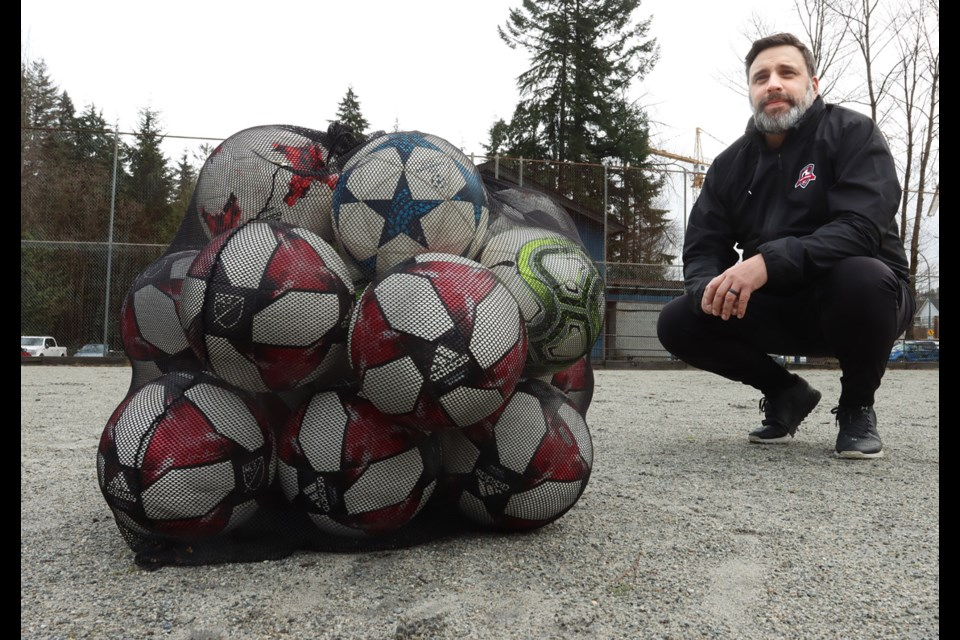 Dustin Crockett, the president of Port Moody Soccer Club, says construction of a new field and clubhouse to replace the all-weather field at Inlet Park is long overdue.