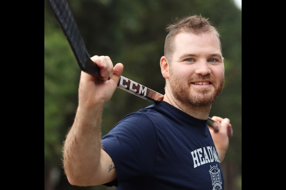Wade MacLeod is back on the ice after three years away to deal with a recurring brain tumour. He's preparing to join the Manchester Storm of England's Elite Ice Hockey League.