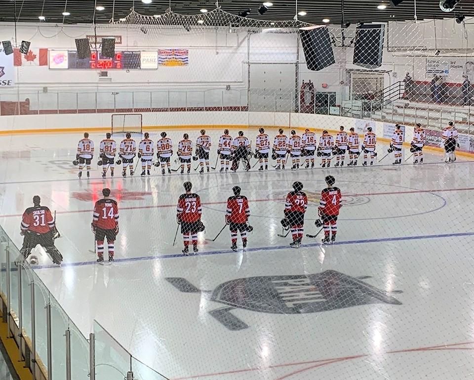 Port Moody Panthers- Ridge Meadows Flames 2021-22 PJHL opener