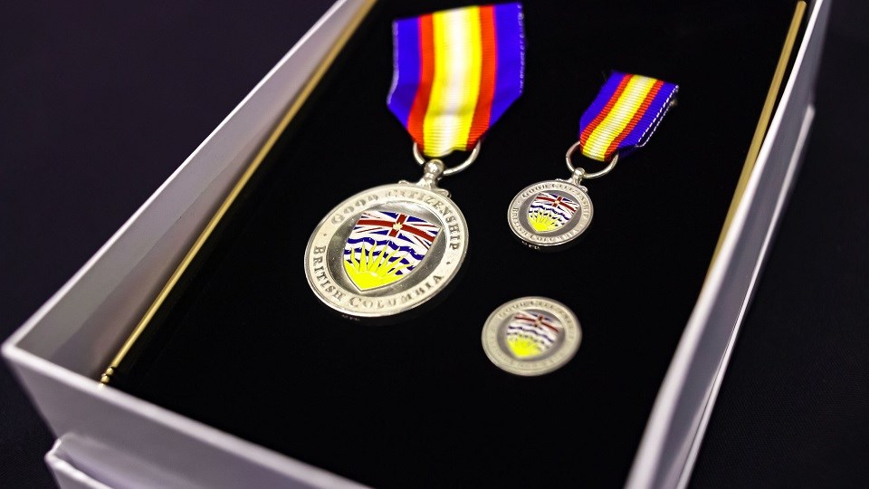 BC Medal of Good Citizenship