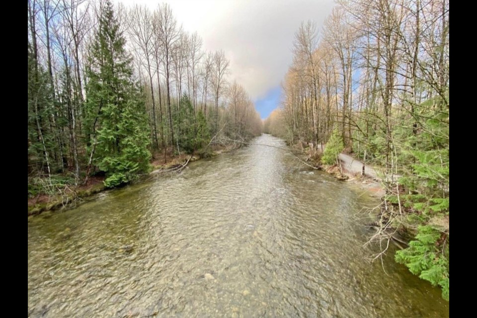 Coquitlam River could see significantly higher flows in January and February 2021, warns BC Hydro