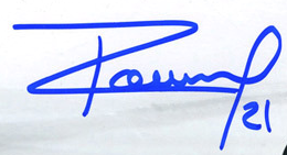 Antoine Roussel Autograph