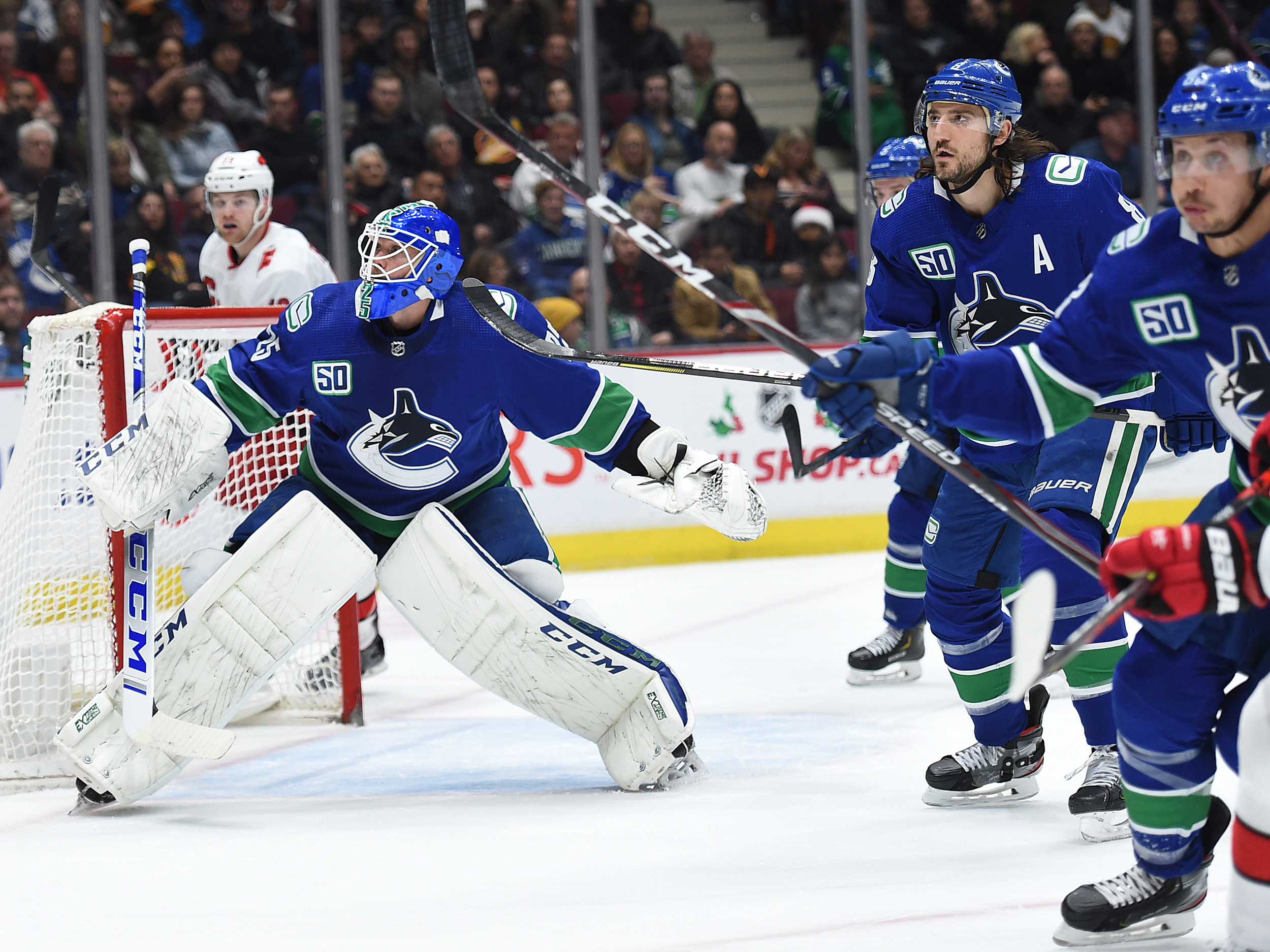 How The All Star Play Of Jacob Markstrom Has Been A Constant In A Chaotic Canucks Season Vancouver Is Awesome