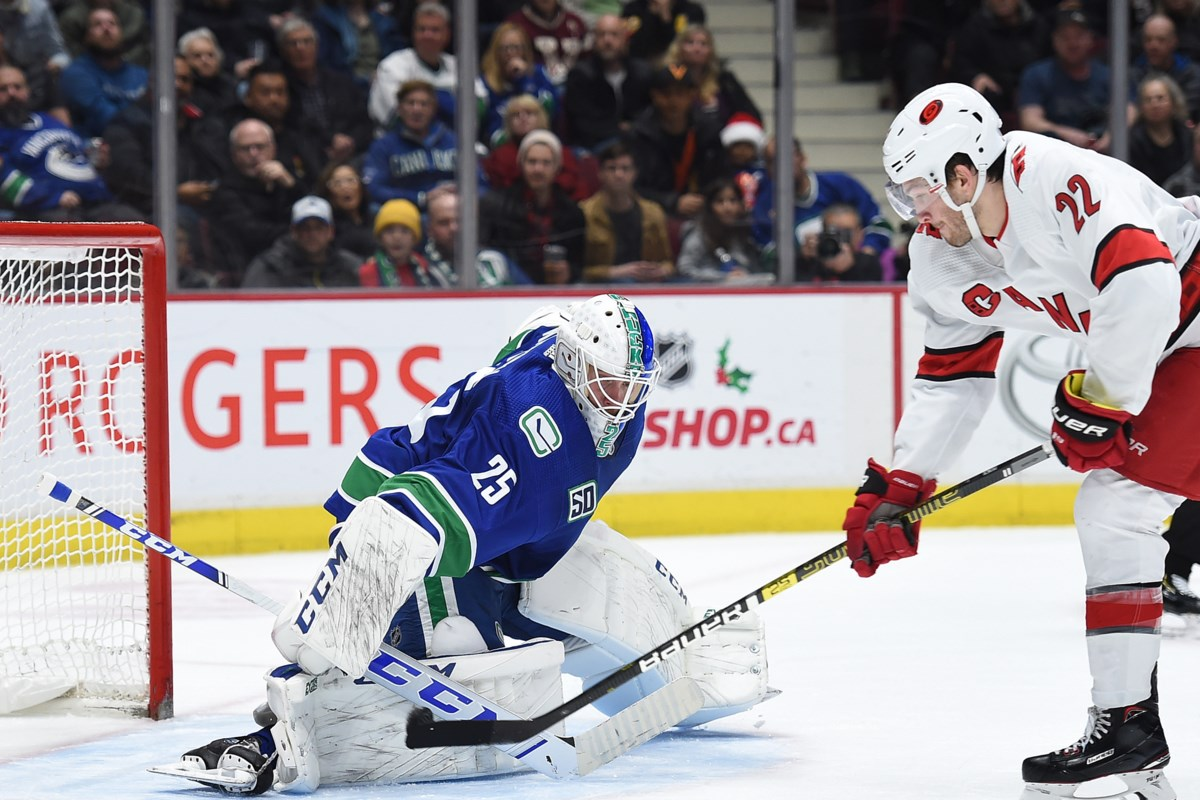 A Decade Apart In Age Quinn Hughes And Jacob Markstrom Both Head To Their First Nhl All Star Game Vancouver Is Awesome
