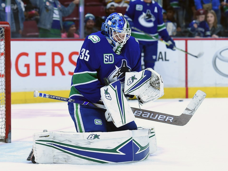 A Deep Dive Into Thatcher Demko S Technique And Why He S Ready To Step In For The Injured Jacob Markstrom Vancouver Is Awesome