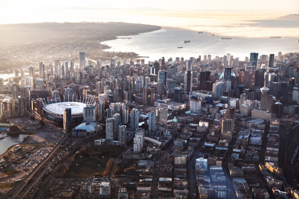 downtown Vancouver GettyImages-1157635059