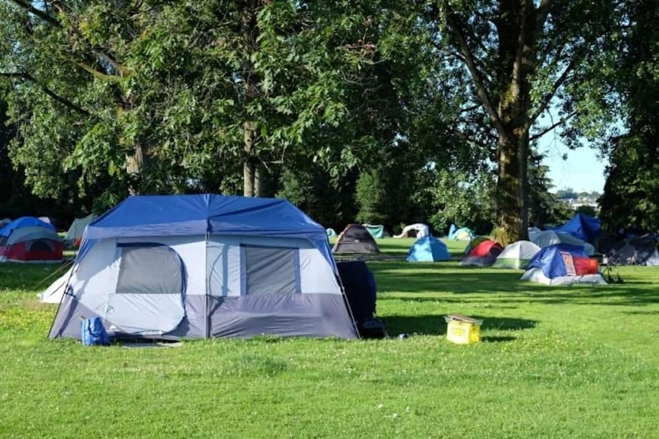 strathcona-park-homeless-camp