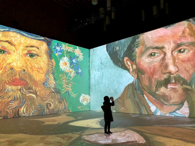 Step inside over 200 Van Gogh paintings at this unique immersive exhibit in Vancouver