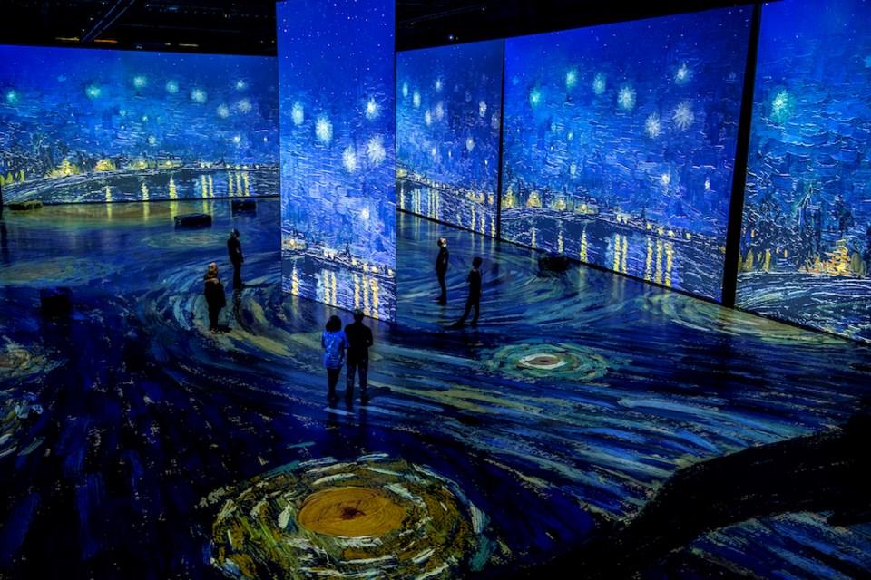VanGogh immersive experience Vancouver 2020 (LaurenceLabat)