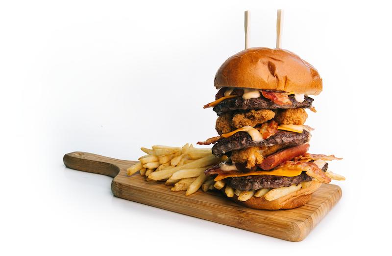 BC Place - The Outrageous Burger