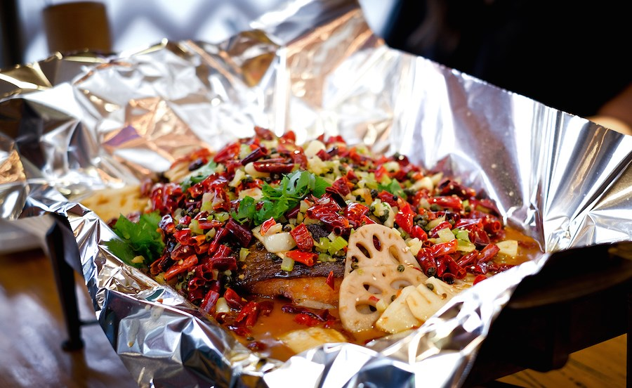 Best Sichuan Spicy Grill Fish - Happy Tree House BBQ (1)