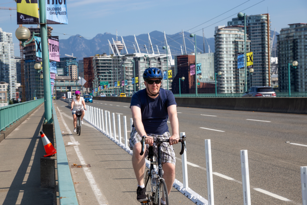 Most Vancouver residents are strongly in favour of bike lanes