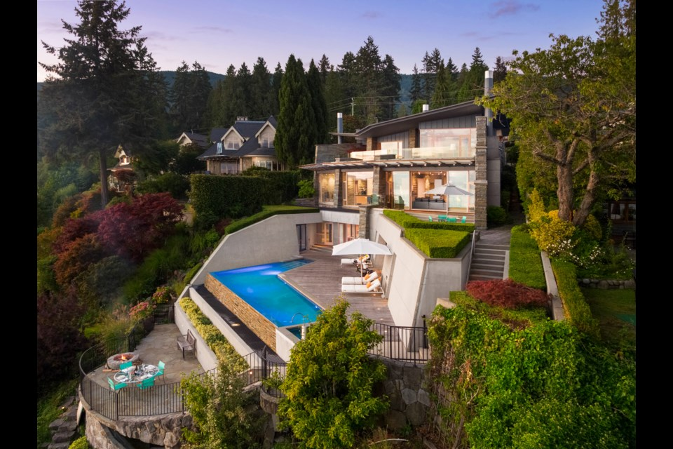 Behind a secluded driveway in Altamont, one of West Vancouver's most exclusive neighbourhoods sits 2910 Parklane.