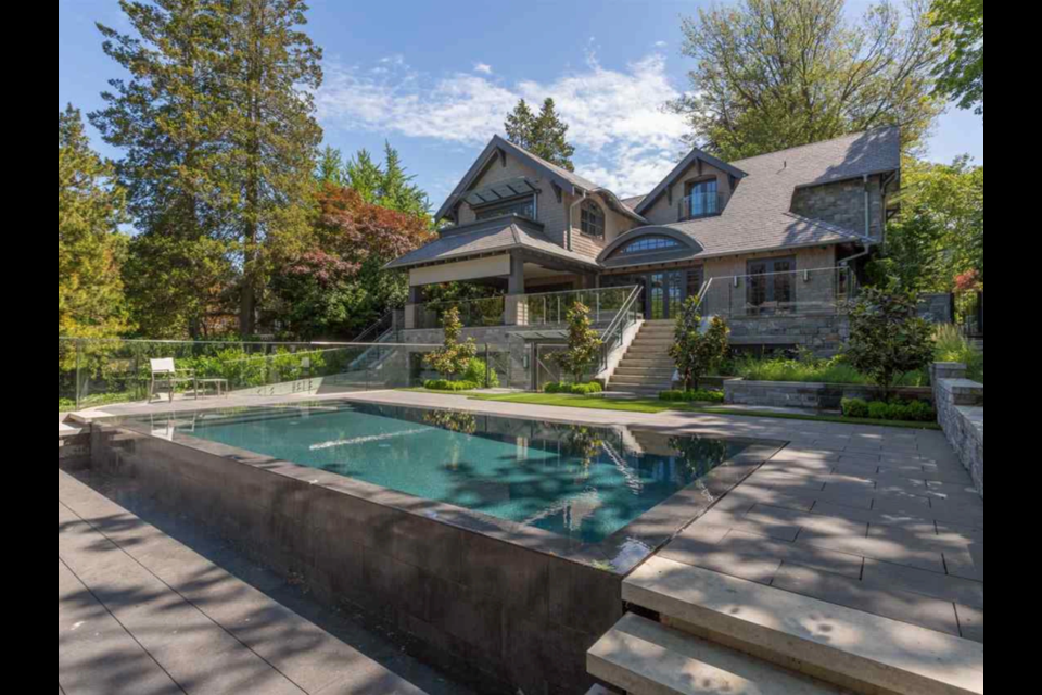 This Vancouver home, located at 4687 Marguerite Street in Shaughnessy, was recently listed for $19.8 million.