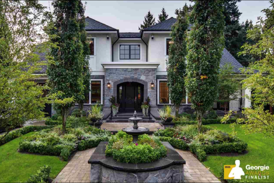 This newly-built dream home at 1438 W 32nd Ave. in Vancouver, B.C. is currently listed for more than $23 million. Photo courtesy of REW.ca