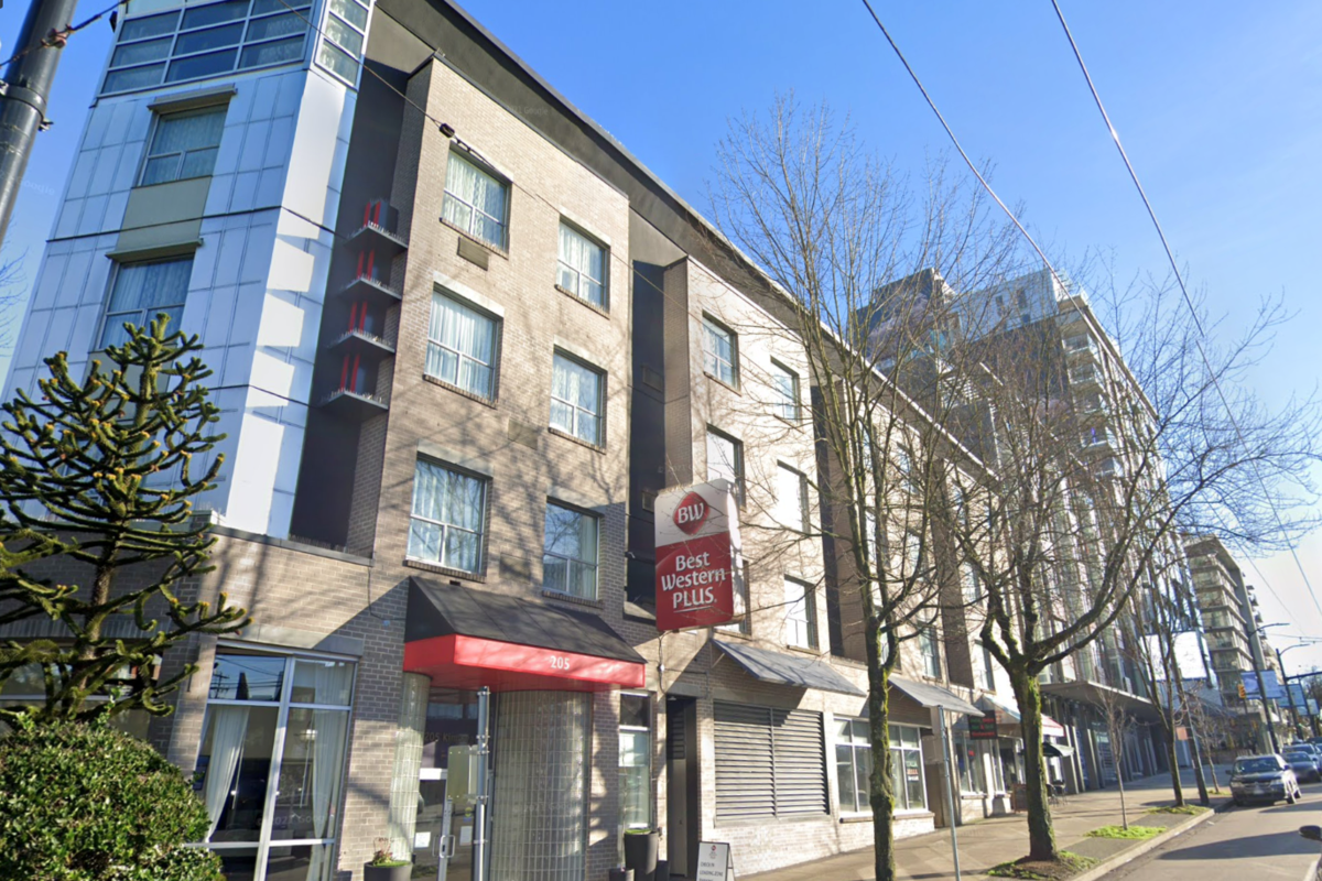 City of Vancouver purchases former Best Western to re-purpose as supportive housing