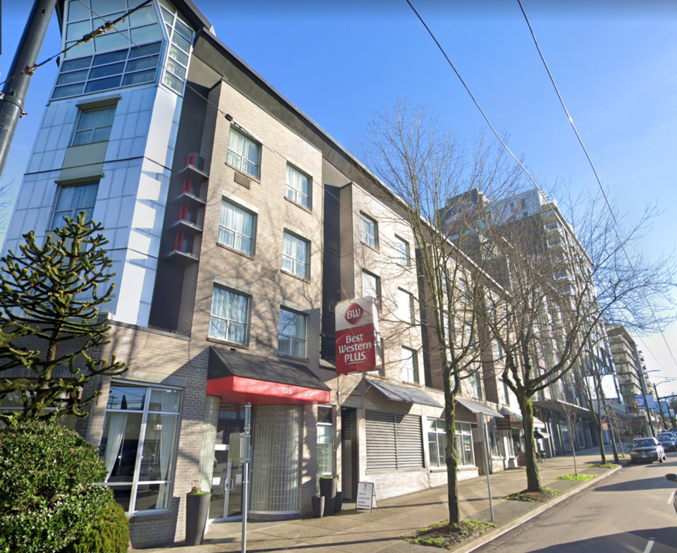 Best Western - 205 Kingsway - City of Vancouver supportive housing