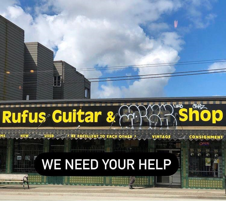 Rufus guitar shop