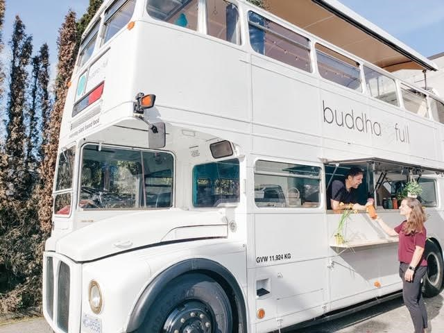 buddha-bus double decker food truck vancouver
