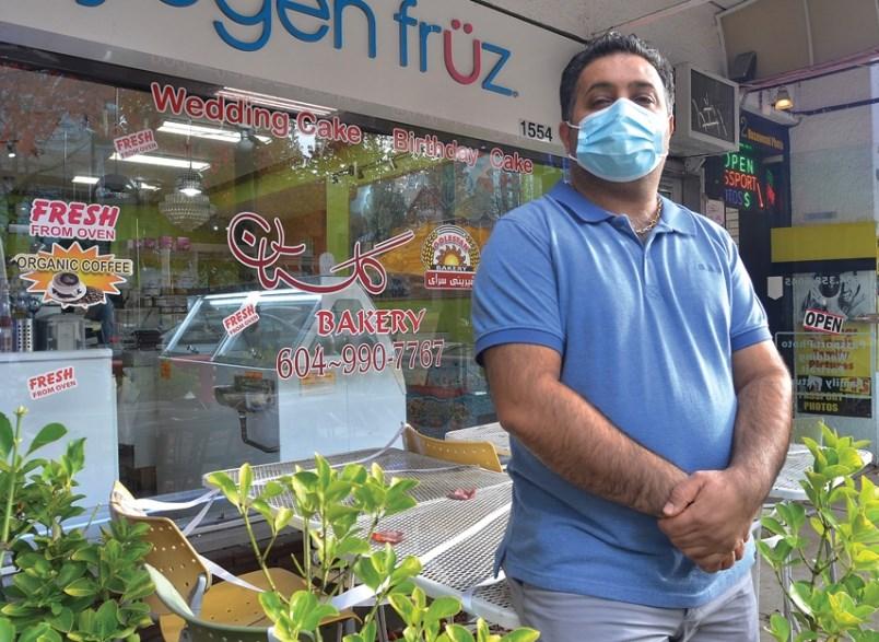 Golestan Bakery Jalal Darvishi North Vancouver coronavirus emergency commercial rent assistance