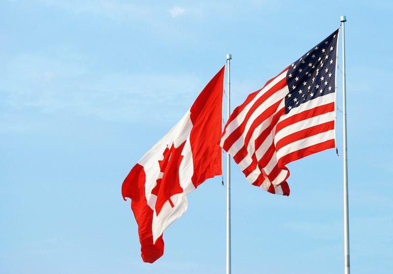 canada-usa-flags