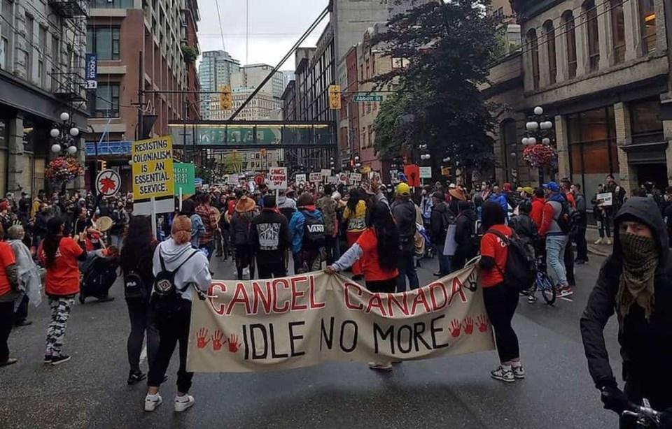 cancel-canada-vancouver-protest