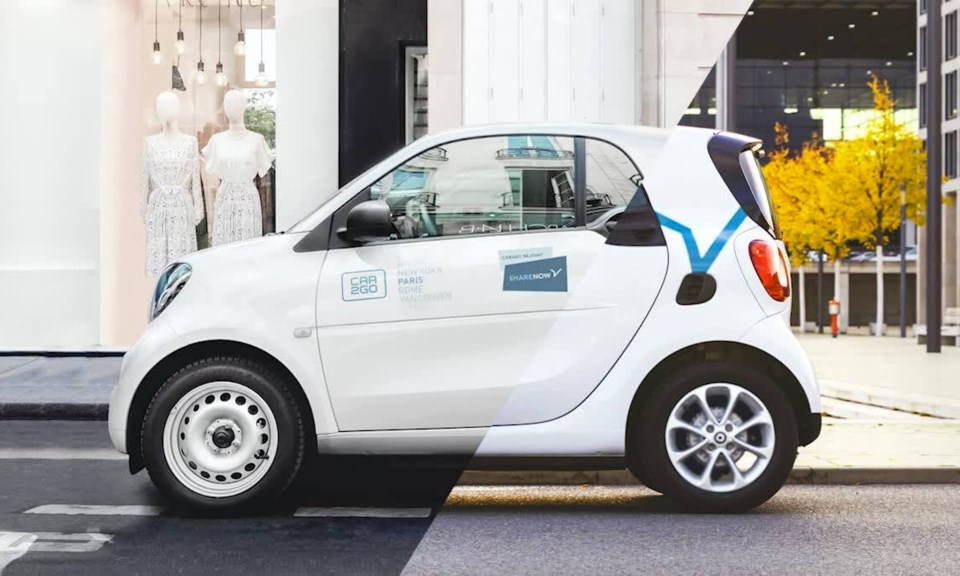 Share Now, formerly Car2Go, to cease all North American service in 2020