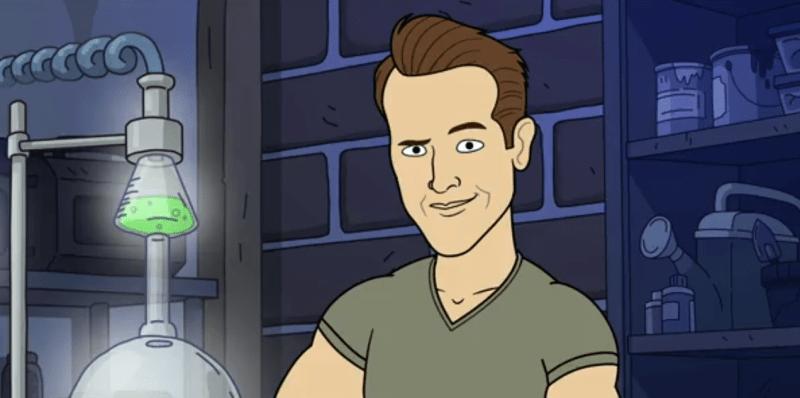Ryan Reynolds on Corner Gas