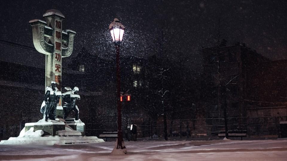 chinatown snow 2