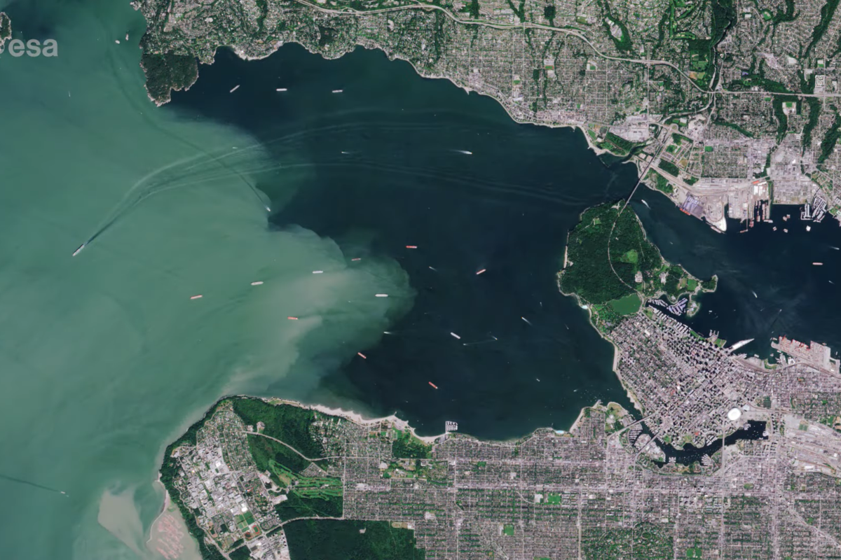 European Space Agency releases photos of Vancouver from space (VIDEO)