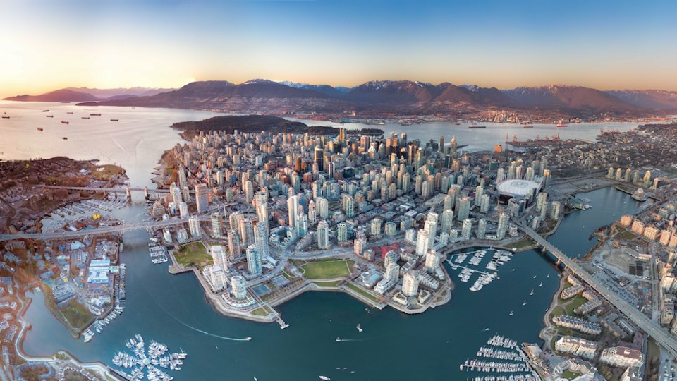 vancouver-downtown-shot-above-sunset