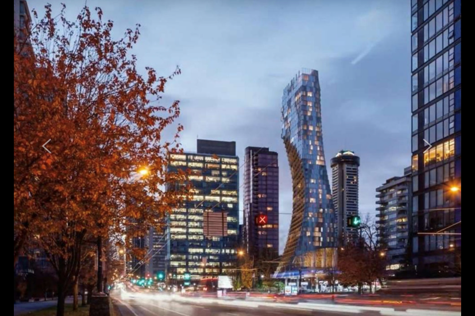 The Alberni is currently under construction and is slated to open this year in Vancouver's West End. The three-bedroom, four-bath unit 3902 is currently the priciest condo up for sale in Vancouver.