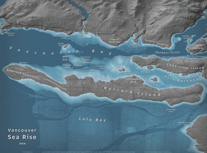 Vancouver Sea Level Rise Map(1)