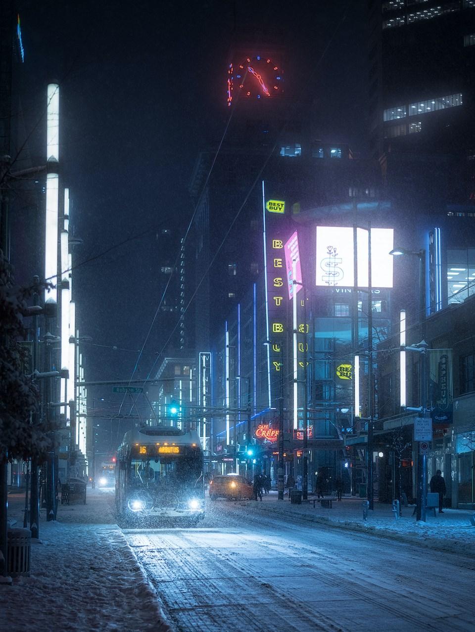Vancouver-snowy-Granville-2019