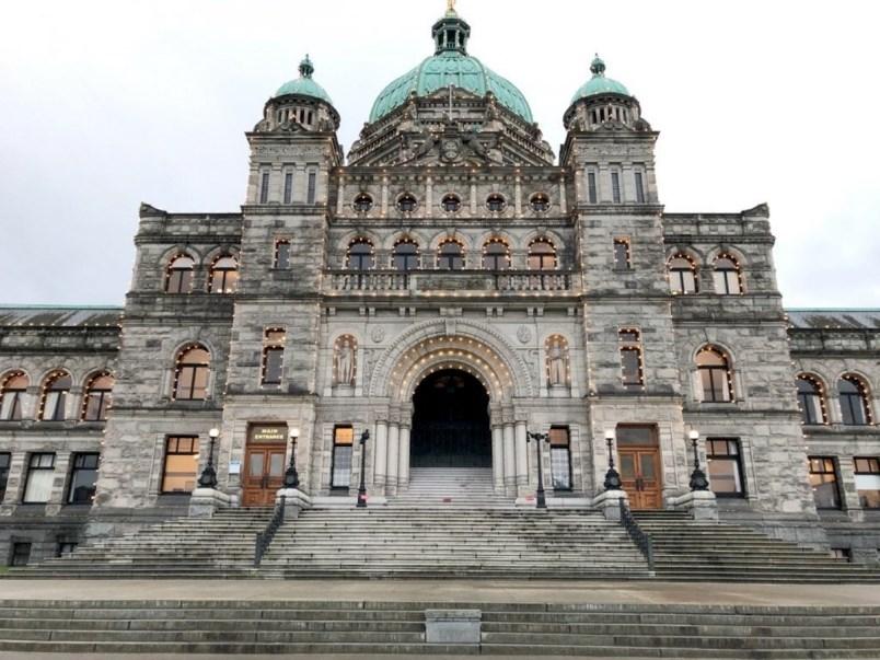 The B.C. Legislature in Victoria. Photo Times Colonist